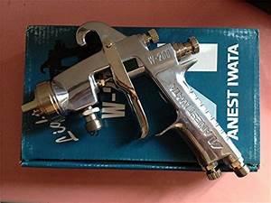 Anest Iwata W200 Manual Spray Gun1 2mm  1 5mm  2 0mm  2 5mm