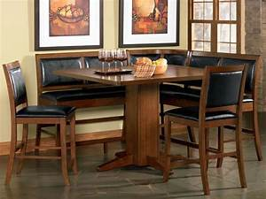 round kitchen tables and chairs sets breakfast corner With breakfast nook kitchen table sets