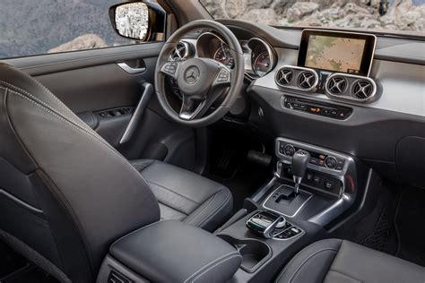 Mercedes X Class Interior 2018 mercedes x class review gtspirit