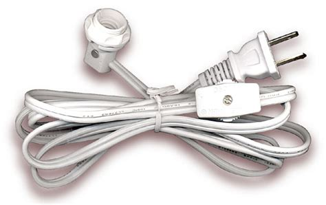 Lamp Cord Sets With Candelabra Base Socket Switch