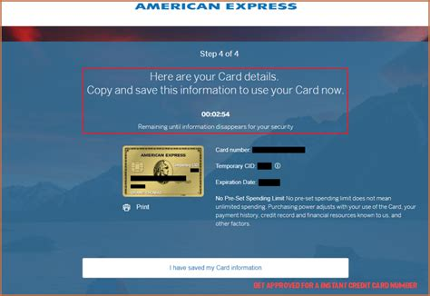 It's one of my big credit card. 9 Unconventional Knowledge About Get Approved For A Instant Credit Card Number That You Cant L ...