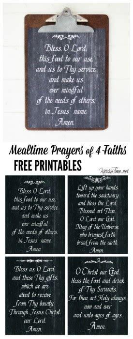 grace  chalkboard art mealtime prayer