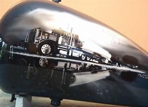 Route 66 - Gas Tank Harley Davidson - JustAirbrush
