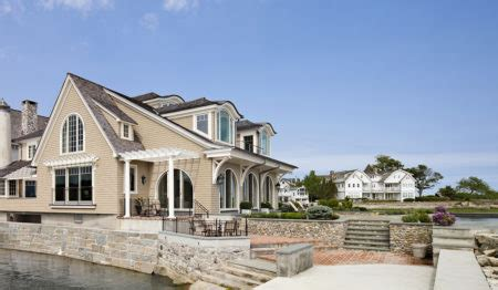 waterfront renovation showcases luxury house plans