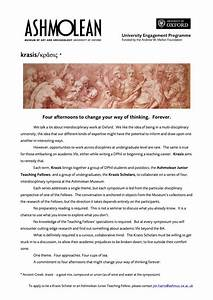Oxford University History Essay Introduction