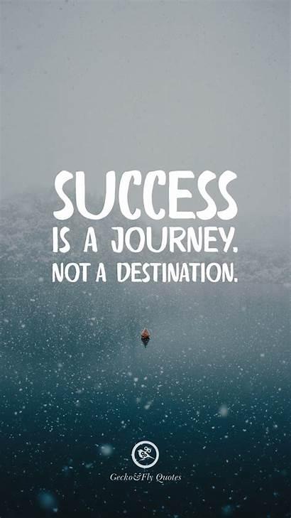 Success Journey Destination Motivational Quotes Inspirational Iphone
