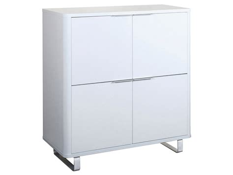 White High Gloss Cupboard by High Gloss Finish Storage Cupboard Cabinet Unit Black