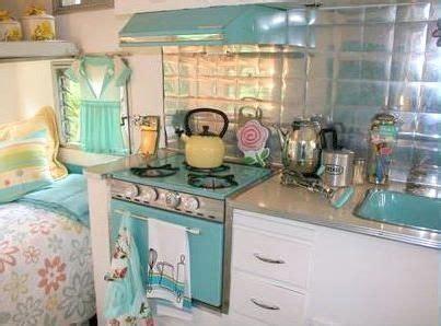 travel trailer kitchen accessories vintage trailer kitchen shabby chic this 6351