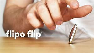Flipo Flip Pocket Size Kinetic Skill Toy By The Work Of