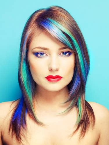 Would You Dye Your Hair With Kool Aid