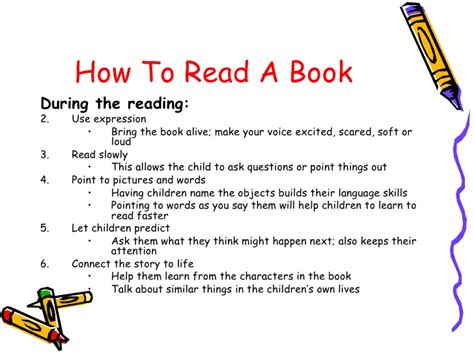 How To Read A Book To A Child