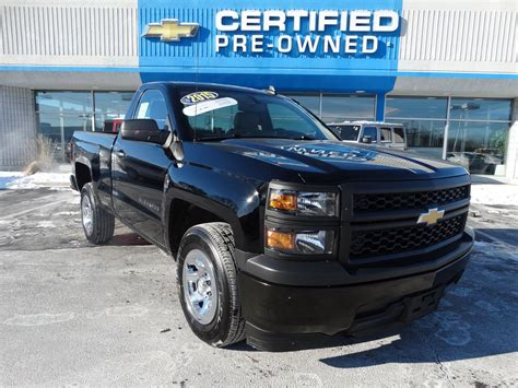 Certified Pre-owned 2015 Chevrolet Silverado 1500 Work