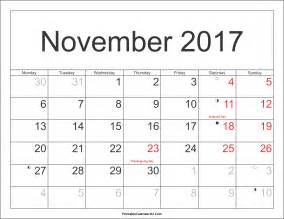 weekend calendar template november 2017 calendar with holidays uk calendar