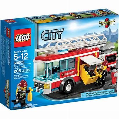 Lego Fire Truck Firefighter Ladder ยน เข
