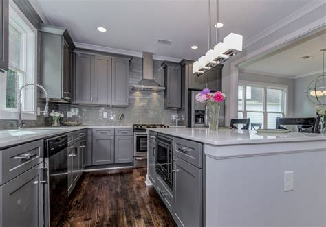 gray green and blue 3 cabinet color trends that wow