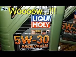 5w30 Vollsynthetisch Liqui Moly : liqui moly 5w30 molygen new generation oil youtube ~ Kayakingforconservation.com Haus und Dekorationen