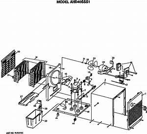Ge Ahd40sss1 Dehumidifier Parts