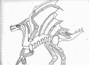 Robot Dragon by EmperorKarino on DeviantArt