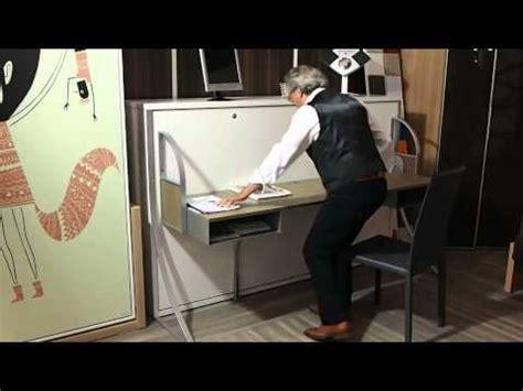 lit escamotable bureau intégré lit escamotable bureau