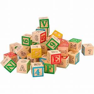 Cube En Bois Bébé : cube en bois alphabet achat vente pas cher ~ Dallasstarsshop.com Idées de Décoration