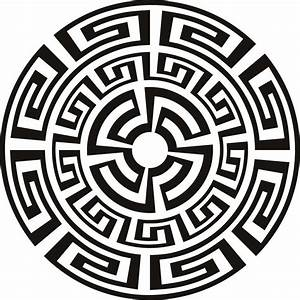 Aztec Pattern- Black and White Mandala | Aztec | Pinterest ...