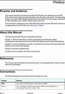 Asyst Technologies Atr9100 Advantag 9100 User Manual