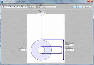direct disc printing with the canon pixma pro 100 With canon printer templates