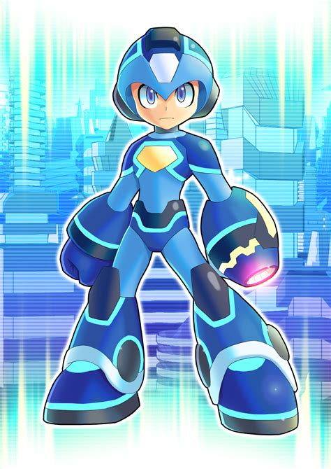Megaman 2018 V2 By Ultimatemaverickx On Deviantart