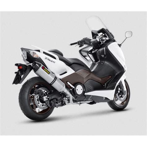 akrapovic yamaha scooter tmax 500 530 2008 2016 ligne compl 232 te racing en titane pot d