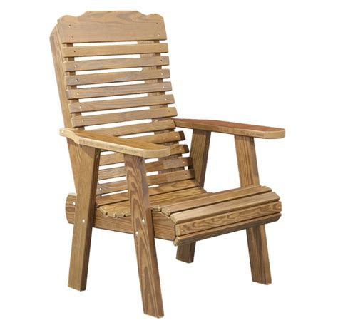Wood Outdoor Chair Plans Free