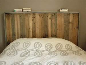 Lit Maison Bois : tete de lit fabrication maison maison design ~ Premium-room.com Idées de Décoration