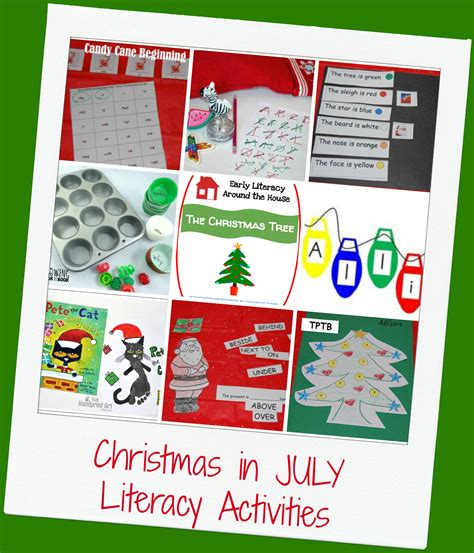 christmas in july activities for preschool the preschool