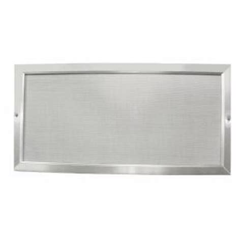 bathroom fan soffit vent home depot screen tech 6 in x 24 in soffit screen vent sv624 the