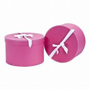 Boite Cadeau Ronde : boite chapeau rondes en carton lot de 2 thisga ~ Teatrodelosmanantiales.com Idées de Décoration