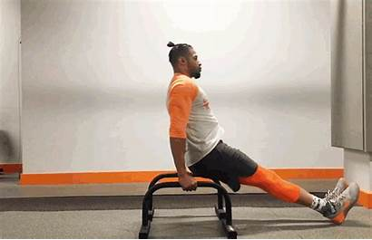 Crossfit Exercises Parallette Tricep Shoot Through Total