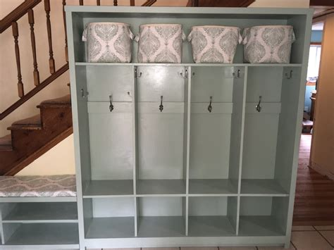 Entryway Lockers And Bench