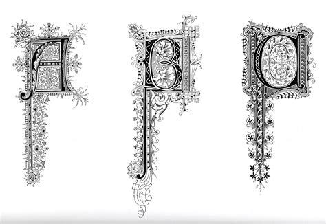 Illuminated Alphabet Templates by Illuminated Letters Alphabet Template New Calendar