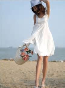 gallery for gt white casual beach dress