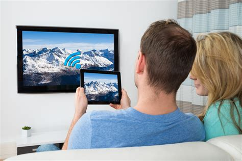 tablet auf tv so kann sein smartphone oder tablet mit dem fernseher