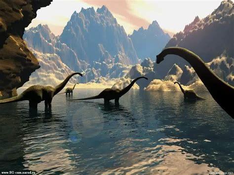 avanti water il preistorico mondo dei dinosauri immagini e sfondi per