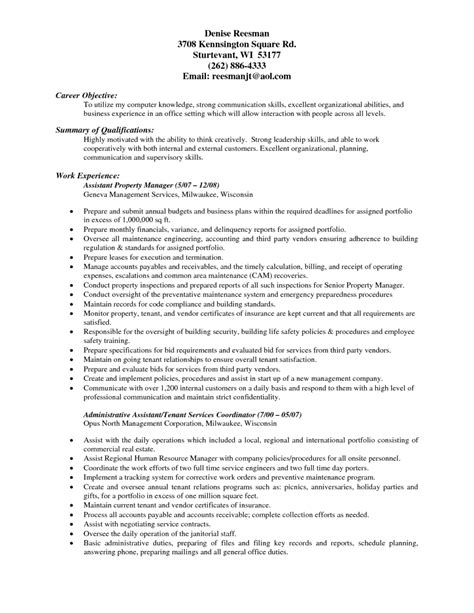 catchy resume objectives sle nanny resume ideas radio