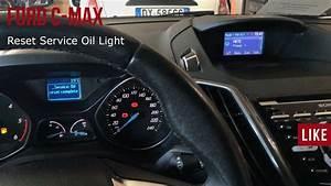 Ford C-max Reset Oil Light