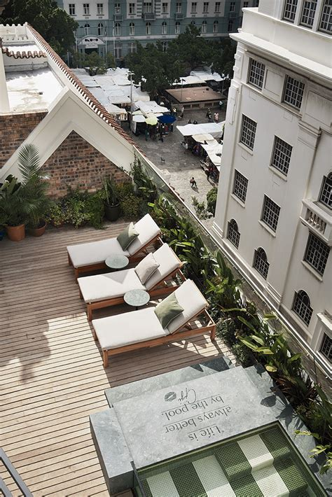 cool spaces gorgeous george hotels gigi rooftop visi