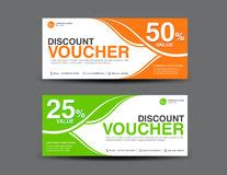 discount voucher template coupon designticket banner