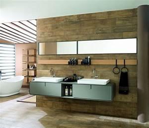 meuble salle de bain des modeles tendance cote maison With meuble de salle de bain porcelanosa