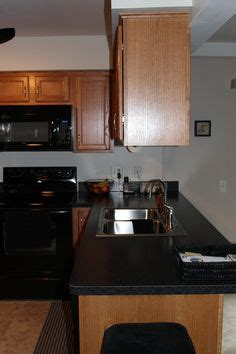 kitchen cabinet image will definitely go with black appliances next time 2551