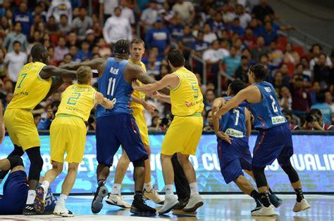 basketball australia ceo calls  violent fans