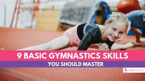 basic gymnastics skills   master