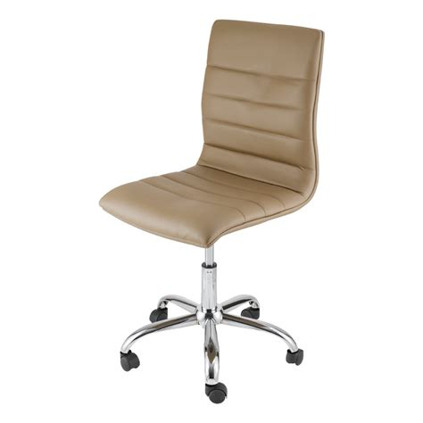 bureau zoe chaise de bureau taupe zoé mooviin