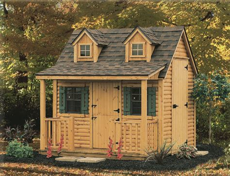 Log Cottage Log Cottage Playhouse 187 Country Sheds